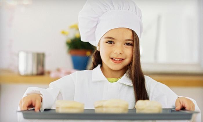 Ridgewood Culinary Studio - Ridgewood: One-Week Kids' Cooking Camps at Ridgewood Culinary Studio (Half Off). Seven Options Available.
