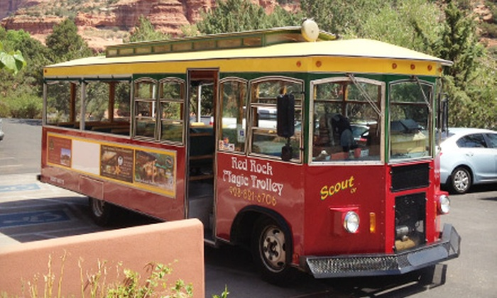 Red Rock Magic Trolley - Sedona: 90-Minute Trolley Tour Through Sedona for Two or Four from Red Rock Magic Trolley (Up to 55% Off)