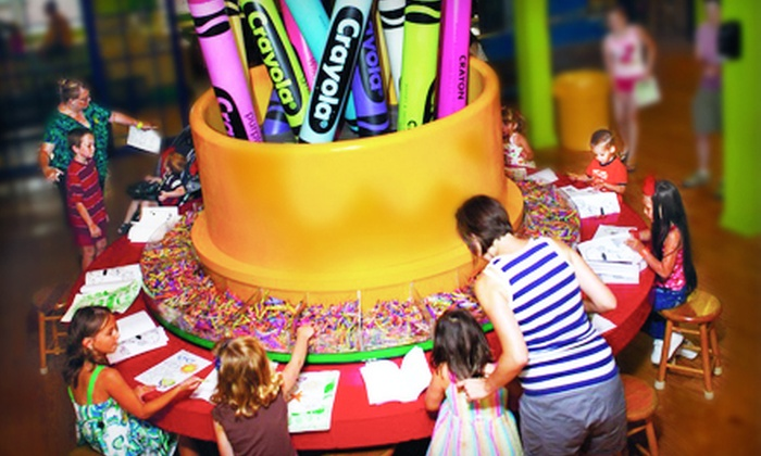 The Crayola Experience - Wilson: $12 for Two to Visit The Crayola Experience ($24 Value)