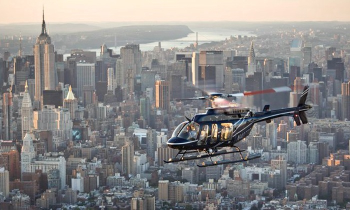 Helicopter Flight Services, Inc. - Downtown Manhattan Heliport on East River: 12-15 or 18-20 Minute Helicopter Tour of New York City from Helicopter Flight Services, Inc. (Up to 32% Off)