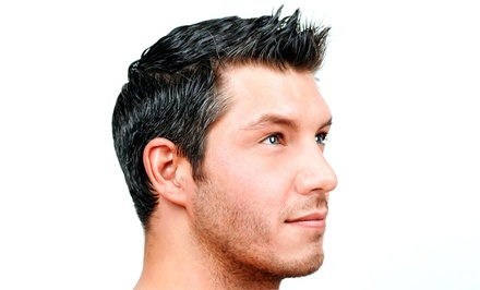 A Men's Haircut with Shampoo and Style from Premier Hair Studio (60% Off)