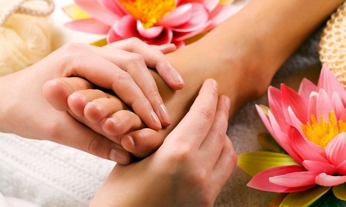 Sole Revival Reflexology - River Edge: Pedicure and Reflexology, or One Reflexology Treatment at Sole Revival Reflexology (Up to 46% Off)