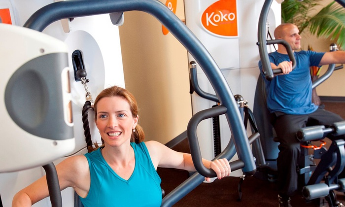 Koko FitClub - Chattanooga - Hickory Valley - Hamilton Place: One-Month Fitness Membership at Koko FitClub (89% Off)