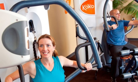 One- or Three-Month Unlimited Membership at Koko FitClub (Up to 89% Off)