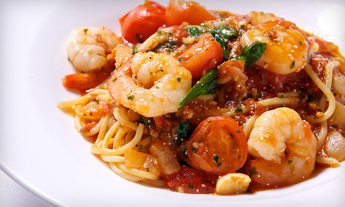 Marcello's Ristorante of Suffern - Lafayette Theater: Zagat-Rated Upscale Italian Dinner with Wine for Two or Four at Marcello's Ristorante of Suffern (Up to 52% Off)