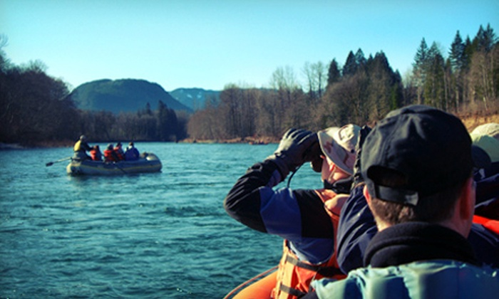 Pacific NW Float Trips - Marblemount: Fall Colors and Salmon Spawning Float Trip for One, Two, or Four from Pacific NW Float Trips (Up to 55% Off)