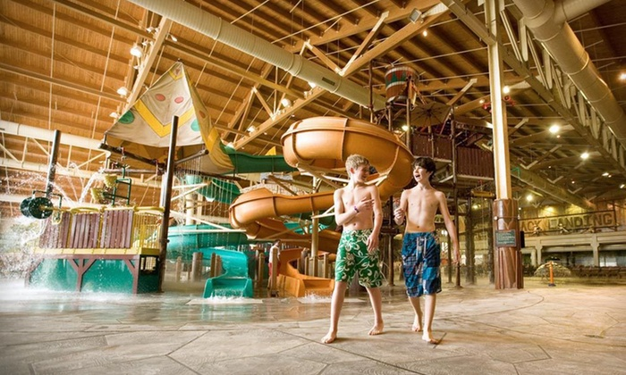 Great Wolf Lodge Grand Mound - Centralia, WA: One-Night Stay with Water-Park Passes and MagiQuest Game at Great Wolf Lodge Grand Mound