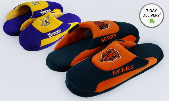 NFL NFC Comfy Feet Slippers: NFL NFC Comfy Feet Slippers. Multiple Teams Available. Free Shipping and Returns.
