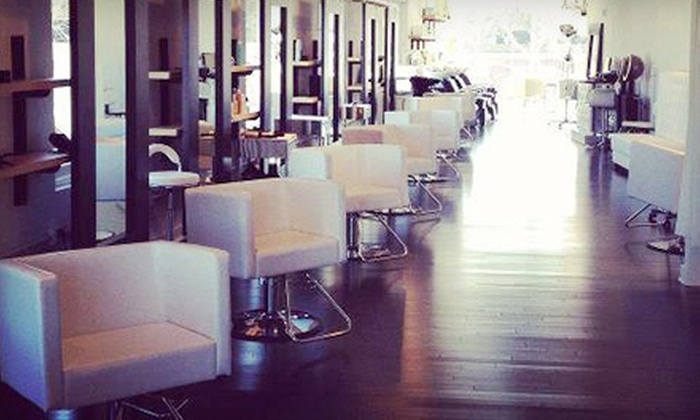 Fringe 125 Salon - Westport: Haircut and Single Process Color or Keratin Treatment at Fringe 125 Salon (Half Off)