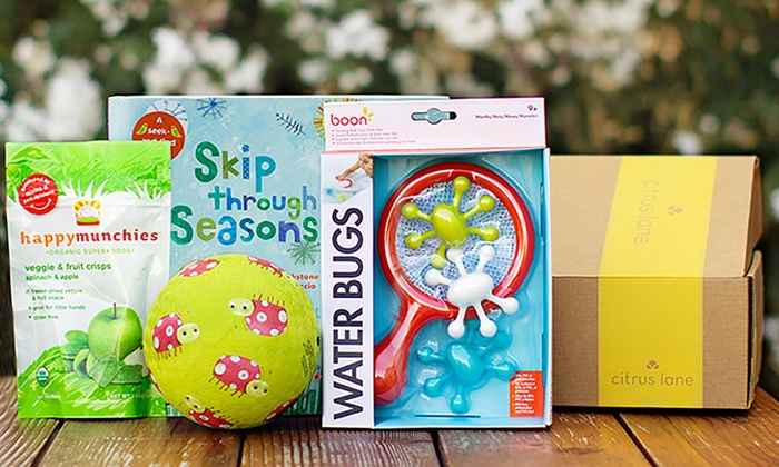 Citrus Lane: Kids' and Baby Products from Citrus Lane (Up to 50% Off). Three Options Available.