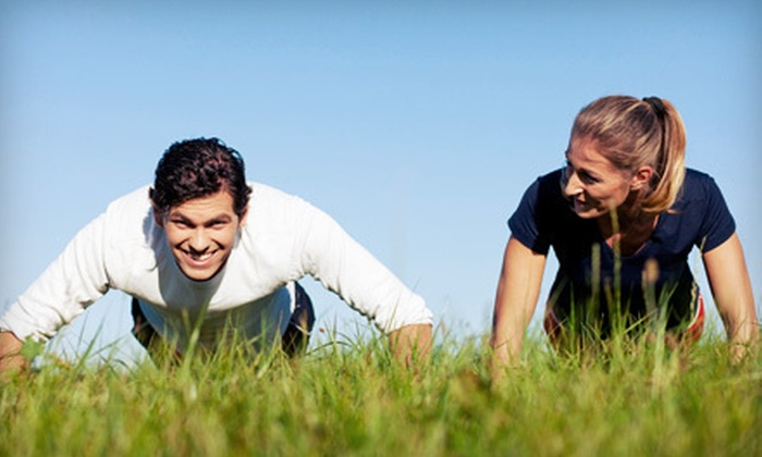 TS Fitness - Upper East Side: 5 or 10 Outdoor Boot-Camp Classes at TS Fitness (75% Off)