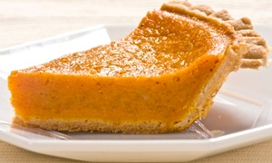 CC's Sweet Potato Pies: $15 for Two 9-Inch Sweet Potato Pies at CC's Sweet Potato Pies ($30 Value)