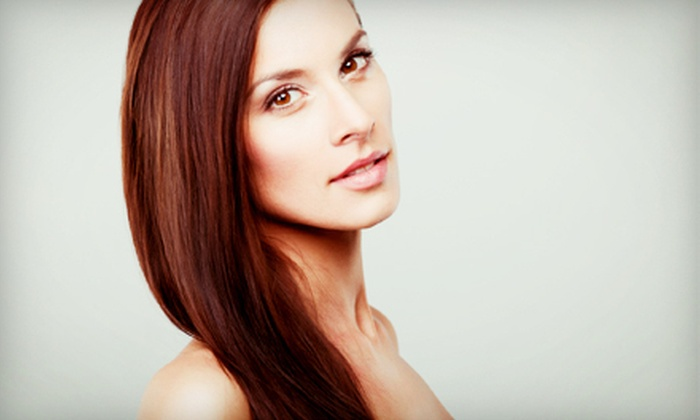 Goddess Salon & Spa - North Hills East: Brazilian Blowout with Option of Haircut at Goddess Salon & Spa (Up to 75% Off)