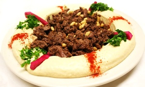 Lebanese Grill: Dine-In Lebanese Cuisine for Two or Four or Takeout at Lebanese Grill (Up to 40% Off)