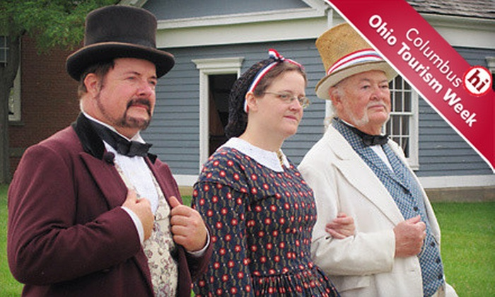 Ohio History Center & Ohio Village - Multiple Locations: Museum Outing for Two Adults or Two Adults and Two Kids at Ohio History Center and Ohio Village (Up to Half Off)
