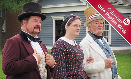 2 Adult Admissions to the Museum and Ohio Village - Ohio History Center & Ohio Village in Columbus