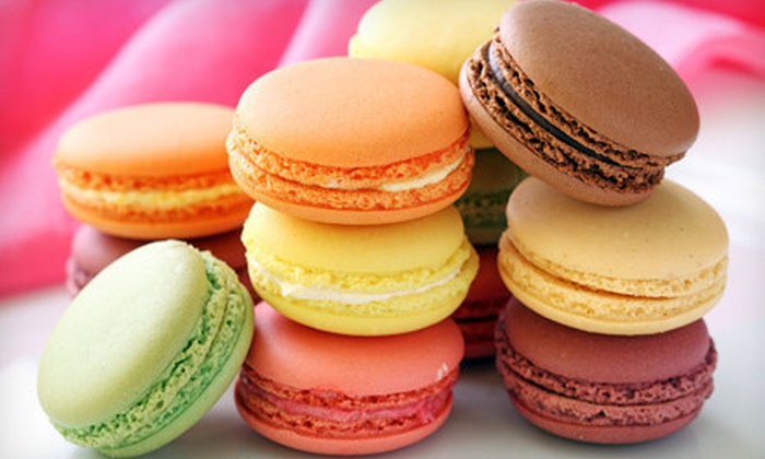Gourmet French Macarons: 24 or 72 DessertHub Gourmet French Macarons with Shipping (Up to 63% Off)