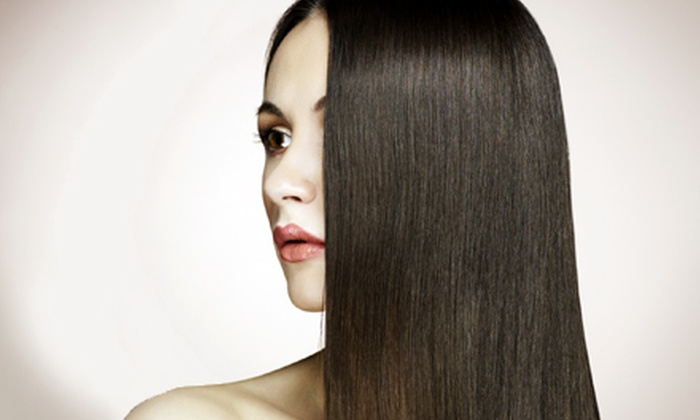 Polo Salon & Spa - North Palm Beach Village: One or Two Formaldehyde-Free Keratin Smoothing Treatments at Polo Salon & Spa (72% Off)