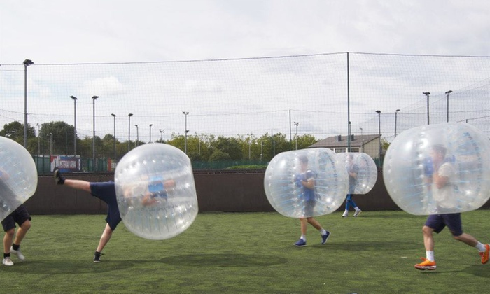 Zorball - Multiple Locations: Zorb Football for Up to Ten, Multiple Locations with Zorball (Up to 40% Off)