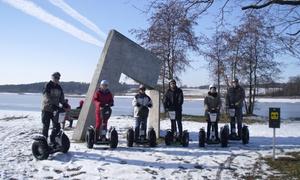 FUNWAY: 75 Min. Segway-Wintertour mit Einweisung und Ausrüstung für 1 oder 2 Personen von Funway (bis zu 51% sparen*)