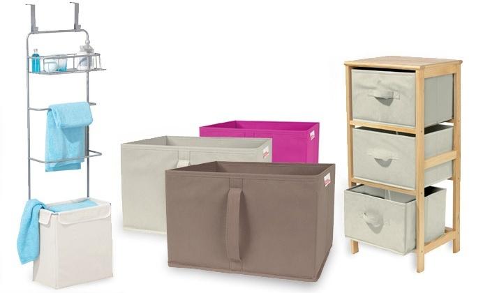 pani re linge et meuble rangement au choix groupon shopping. Black Bedroom Furniture Sets. Home Design Ideas