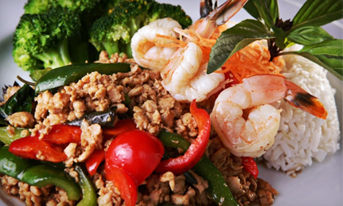Thai Spice Cuisine - Forest Place: Thai Food at Thai Spice Cuisine (Half Off). Two Options Available.
