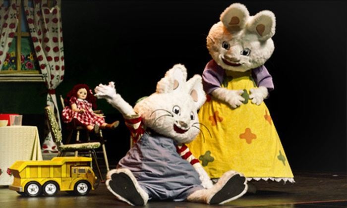 """Max and Ruby: Nutcracker Suite 2012 - Murat Theatre at Old National Centre: """"Max & Ruby: Nutcracker Suite 2012"""" at Murat Theatre at Old National Centre on December 2 at Noon or 3:30 p.m."""