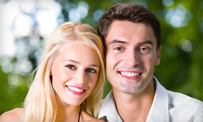 Smile Bright Teeth Whitening - Buckhead: At-Home or In-Office Teeth Whitening from Smile Bright Teeth Whitening (Up to 78% Off). Three Options Available.
