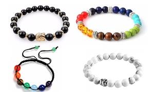Bracelets yoga ornés de cristaux SwarovskiⓇ