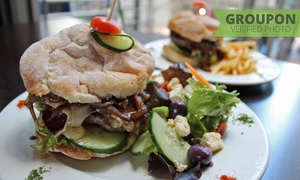 Tribakery Cavendish: Gourmet Burger with Sides from R89 for Two at Tribakery Cavendish (Up to 55% Off)