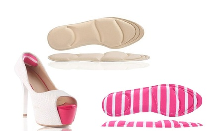 One (AED 49) or Two (AED 79) Pairs of 4D Memory Foam Cushion Shoe Insoles