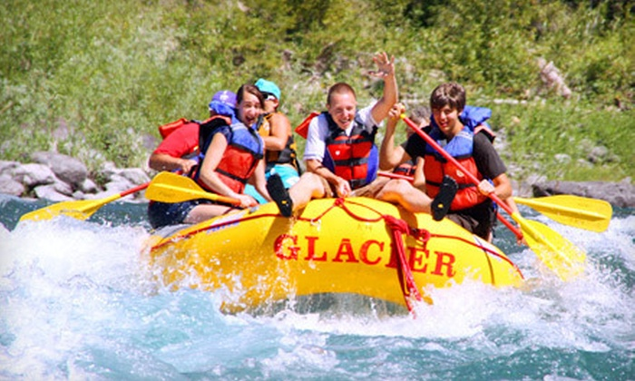 Glacier Raft Company - West Glacier: $26 for Half-Day Whitewater-Rafting Trip from Glacier Raft Company in West Glacier ($52 Value)