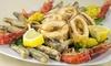 ⏰ 1 kg di frittura di pesce e vino