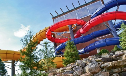 Stay with Optional Water-Park Passes at Split Rock Resort in Lake Harmony, PA. Dates Available into March.