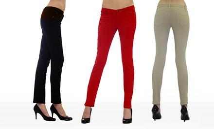 Dinamite 5-Pocket Skinny Twill Pants