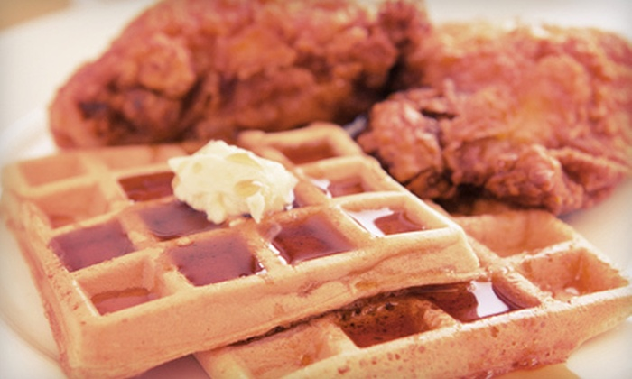 Auntie April's Chicken, Waffles and Soul Food - Bayview: $17 for Dinner for Two at Auntie April's Chicken, Waffles and Soul Food ($35 Value)