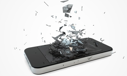 Tempered Glass Screen Protectors or Screen Repair for iPhones and iPads at uBreakiFix (Up to 63% Off)