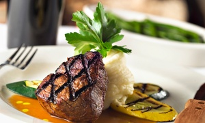Peters Place: Steak, Seafood, and Italian Cuisine for Two or Four at Peters Place (50% Off)