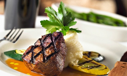Steak, Seafood, and Italian Cuisine for Two or Four at Peters Place (50% Off)