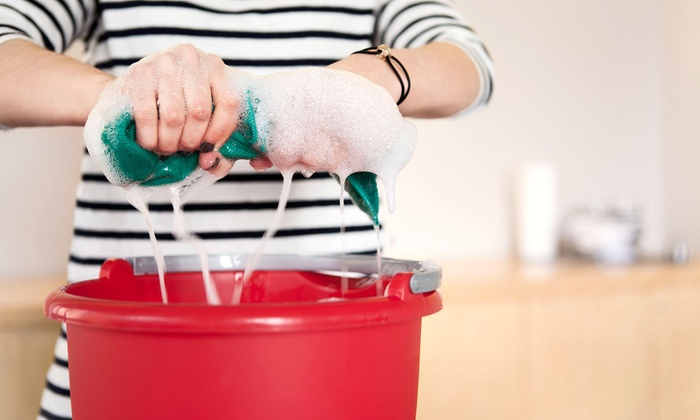EZ Wipeout Service - Inland Empire: Two- or Four-Hour Housecleaning Session, or Carpet Cleaning for Four Rooms from EZ Wipeout Service (Up to 55% Off)