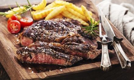 1 ou 2 côtes de bœuf d'1kg chacune avec dessert pour 2 ou 4 personnes dès 34,90 € au restaurant Merci À Vous