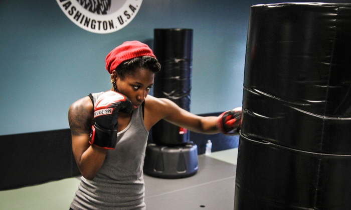 Alpha Martial Arts - Multiple Locations: Fitness-Kickboxing Classes with Gloves at Alpha Martial Arts (Up to 76% Off). Two Options Available.