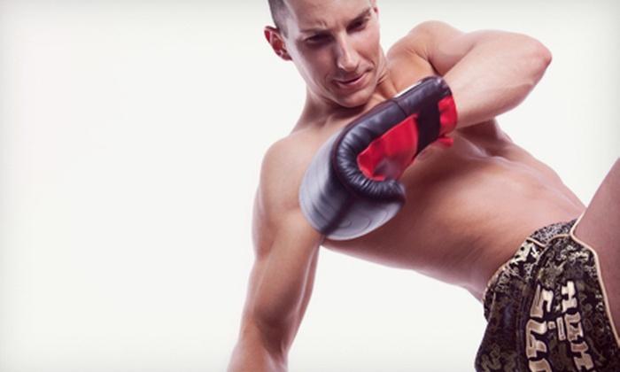 Recinos Muay Thai Academy - Roseville Heights: Six-Week Body-Sculpting Boot Camp or Six-Week Self-Defense Course at Recinos Muay Thai Academy (Up to 77% Off)