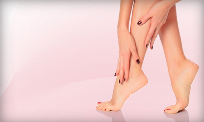 The Wax Lounge - Magnolia Center: Mini Mani-Pedi for One or Two at The Wax Lounge (Up to Half Off)