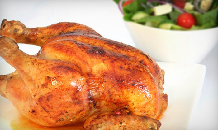 Don J's Rotisserie Chicken - Chino Hills: Family Meal with Whole Chicken and Sides or $6 for $12 Worth of Food and Drinks at Don J's Rotisserie Chicken