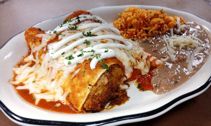 Mama Iguanas - Springfield: Catered Party for Up to 25 or Mexican Food at Mama Iguanas (Up to 67% Off). Three Options Available.