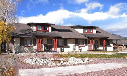 Groupon Deal: 2-Night Stay for Up to Four with Four Oxygen Sessions at The Spruce Lodge in South Fork, CO