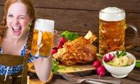 Ticket für das 5. Oktoberfest inkl. Großem Buffet und Getränkeflat im Restaurant Boddensee in Birkenwerder (30% sparen)
