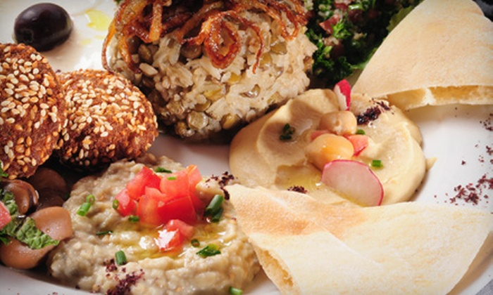 Baba Ghannouj - Multiple Locations: $9 for $18 Worth of Mediterranean Cuisine at Baba Ghannouj