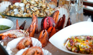Ballarò: Seafood Buffet with Soft or House Beverages at Ballarò, Conrad Hotel (Up to 34% Off)